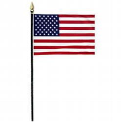 US miniature flag, MUS812RBS