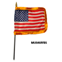 US Fringed Miniature Flag, MUS46RFBS
