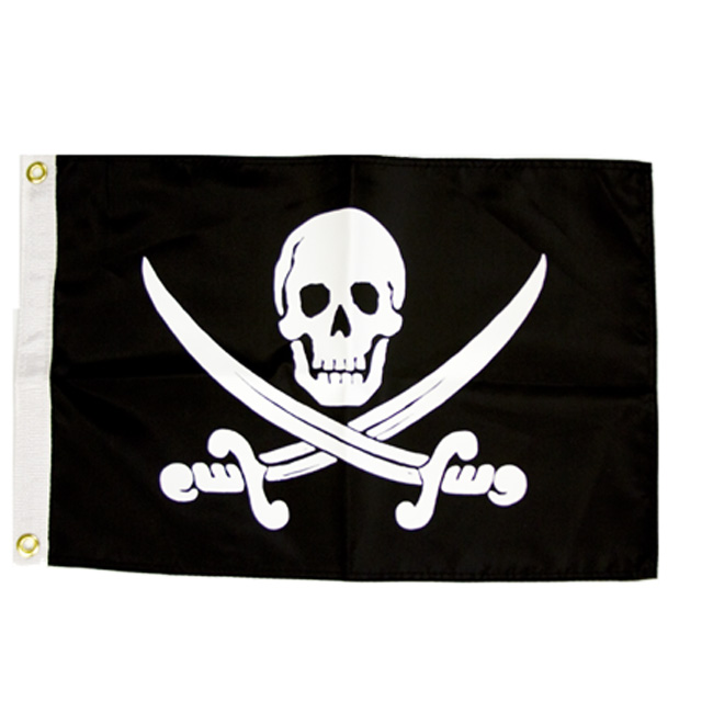 jack rackham s pirate flag gives your boat or home a fun feeling with
