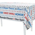 Patriotic Sayings Tablecloth, OTC35962