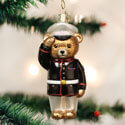 Marine Corps Bear Ornament, OWC12403