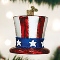 Uncle Sams Hat Ornament, OWC36206