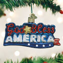 God Bless America Ornament OWC36213