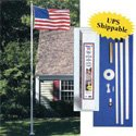 Ground Set Flagpole in Gift Box,P20FG3P