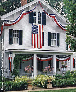 patriotic decorations for 4th of July