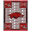 Razorback Throw Blanket, PCI108718