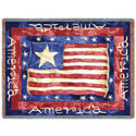 Old Glory Throw Blanket, PCI773T