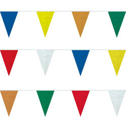 Assorted Colors String Pennants, FBPP0000009633
