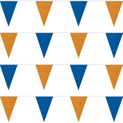 Blue and Orange String Pennants, FBPP0000009762