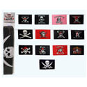 Pirate Flags String Pennants, PENNSB608
