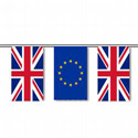 United Kingdom & E.U. String Pennants
