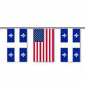 Quebec & U.S. String Pennants