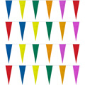 Assorted Colors Heavy Duty String Icicle Pennants