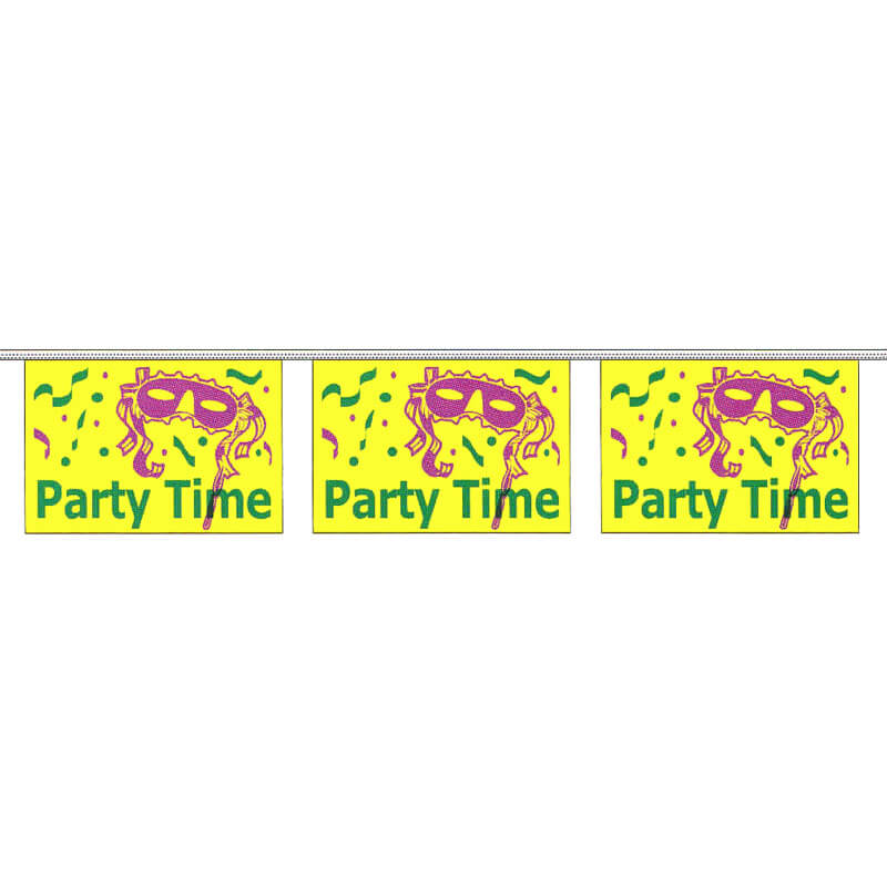 Party Time String Pennants, PENNSPAR60EE