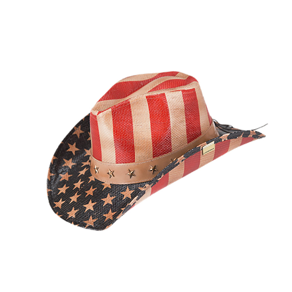 ea5ec5ca2f30a Old Glory Drifter Cowboy Hat