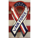 Red, White & Blue Air Force Ribbon Sign, PWRWBAF16