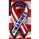 Red, White & Blue Marine Ribbon Sign