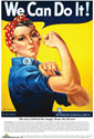 Rosie the Riveter Poster, POSTERROSIE