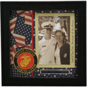 Marine Corps Scrapbook Photo Frame, RRT14550