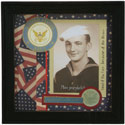 Navy Scrapbook Photo Frame, RRT14551