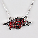 Arkansas Razorbacks Hog Pendant, RSCXRB