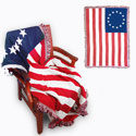 Betsy Ross Blanket, RUFFBRB