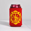 Fire Department Can Koozie, RUFFFIRE