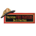 Volunteer Fire Fighter Sign, SIGN34959B