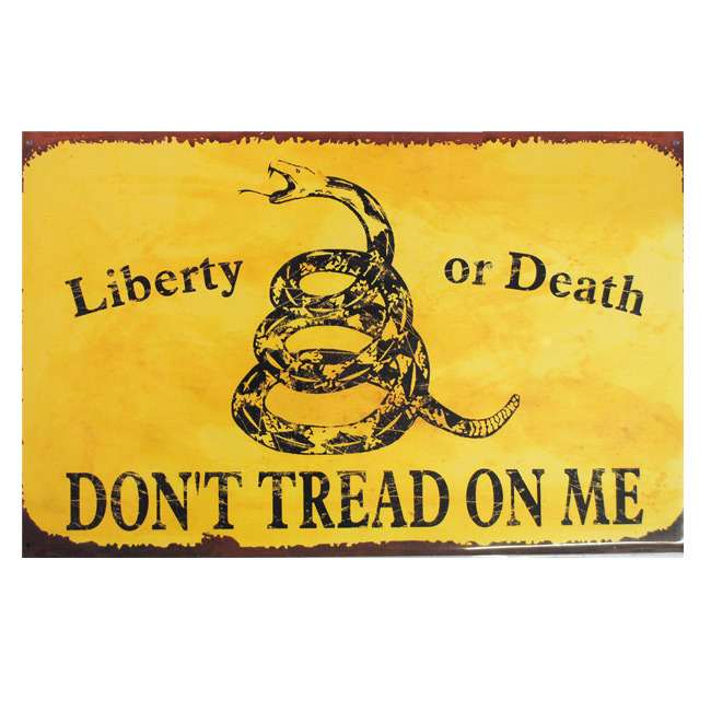 Liberty Or Death Sign