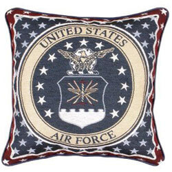 Air Force Tapestry Accent Pillow, SIHO3148