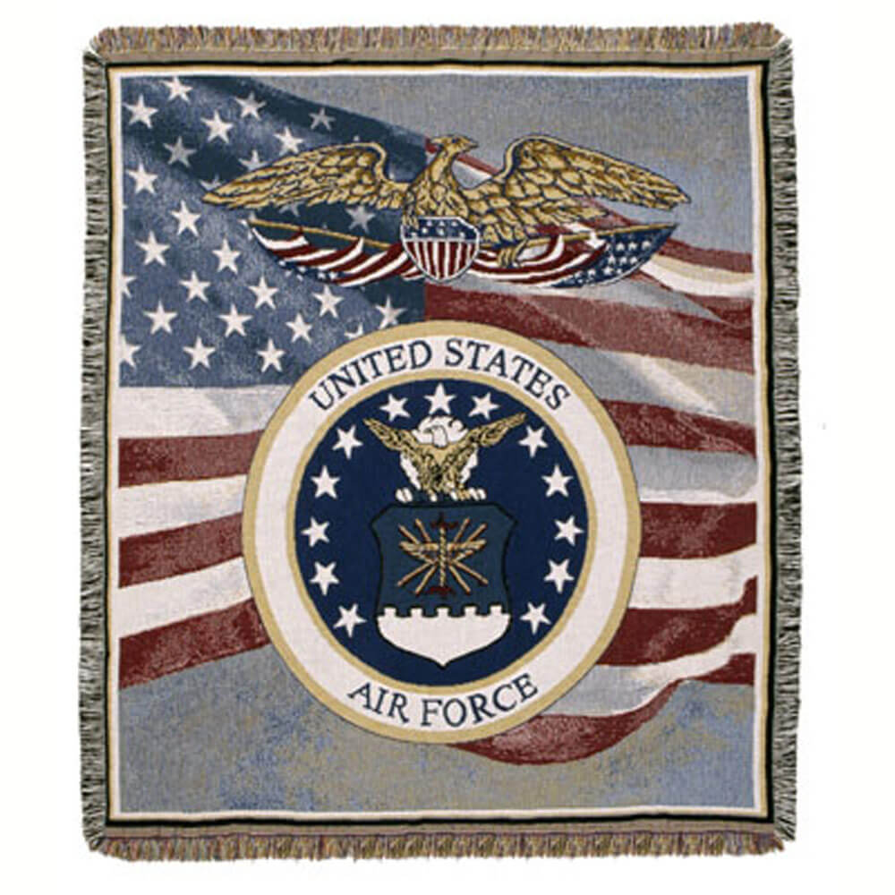 Air Force Tapestry Blanket