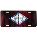 Arkansas Flag Vintage License Plate, SLR1628LP