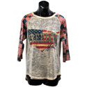 Freedom Yall Burnout T-Shrit, FBPP0000013517