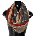 Patriotic Infinity Scarf, SMFS1235
