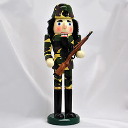Army Soldier Nutcracker, SWI70572