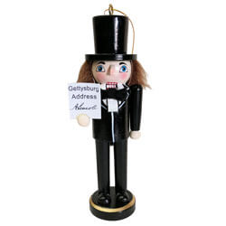 Abraham Lincoln Nutcracker Ornament, SWI70586
