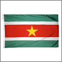 Suriname Flags