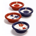 Patriotic Terracotta Outdoor Candlepot Assortment, TAG410403