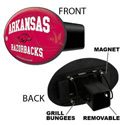 Razorbacks 3-in-1 Hitch Cover
