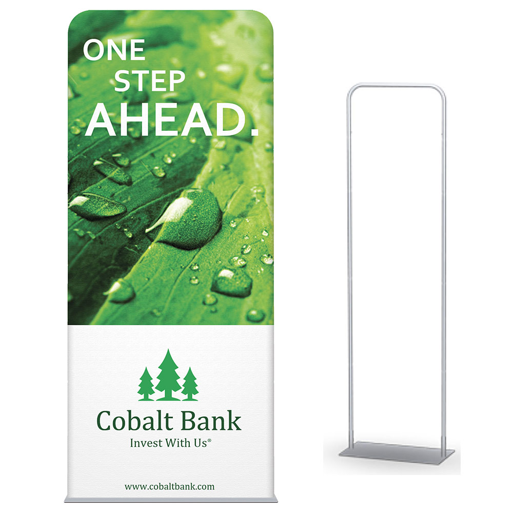 Pillowcase Single Sided Banner Stand 36 In X 72 In