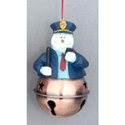 Police Snowman With Bell Ornament, TJC963207P