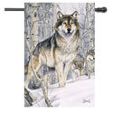 Snow Wolves House Banner, TOL1010437H