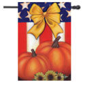 Patriotic Fall House Banner, TOL1010552H