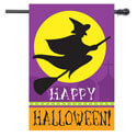 Witch Silhouette House Banner, TOL1010564H