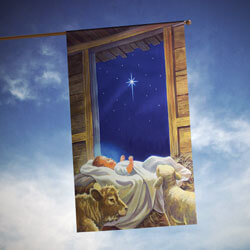 Baby Jesus House Banner, TOL101243H