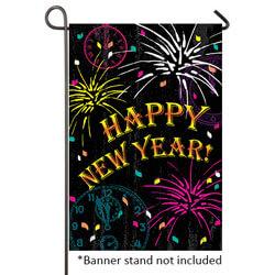 new year celebration garden banner tol1110536g