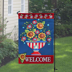 American Welcome Garden Flag, TOL112090G