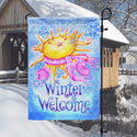 Winter Welcome Garden Banner, TOL112539G