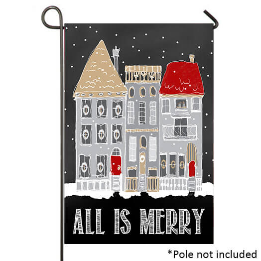 All Is Merry Garden Banner, TOL119663G