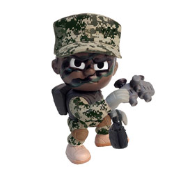 Army Lil Troops Recon Scout, TPATR1RS